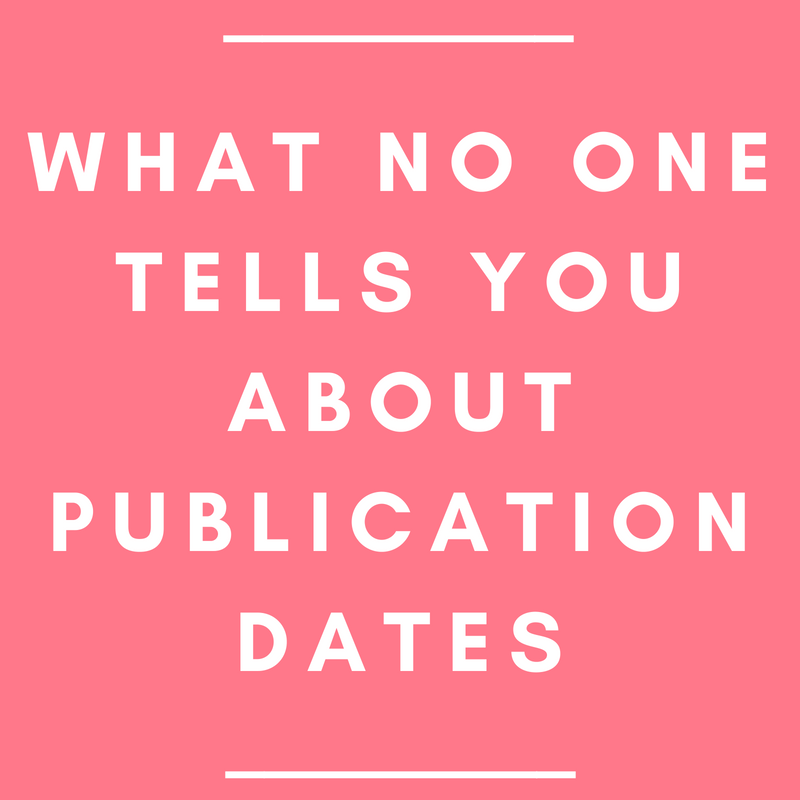What No One Tells You about Publication Dates